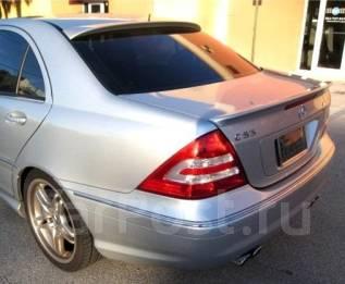 Спойлер на заднее стекло. Mercedes-Benz C-Class, W203