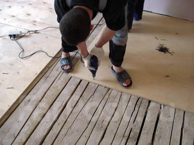 Выравнивание деревянного пола фанерой видео - Фанера Уфа, продажа фанеры, ДВП, ДСП, OSB