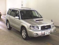 Дефлектор капота. Subaru Forester, SG5, SG9, SG