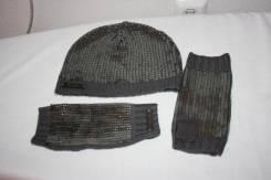Шапка и перчатки. 55-59