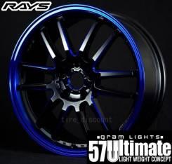 RAYS Gram Lights. 8.0x19, 5x100.00, 5x114.30, ET42, ЦО 73,0мм. Под заказ