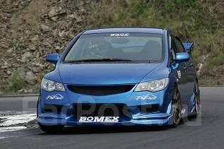 Обвес кузова аэродинамический. Honda Civic, FD1, FD2 Двигатель P6FD1