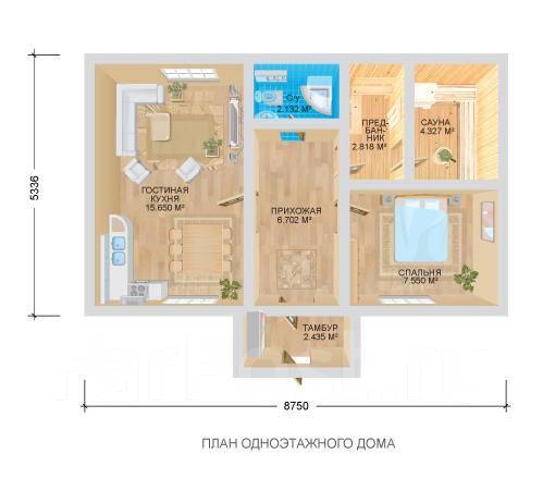 Винтер. до 100 кв. м., 1 этаж