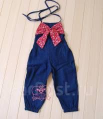 Комбинезоны джинсовые. Рост: 110-116 см