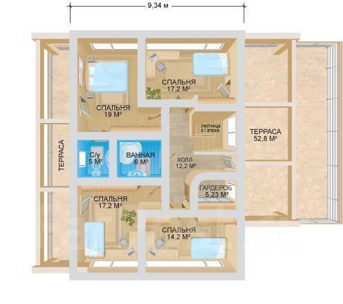 ЛОФТ №3. 300-400 кв. м., 2 этажа