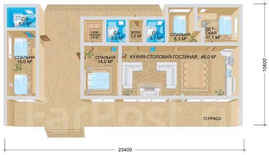 ЛОФТ. 200-300 кв. м., 1 этаж