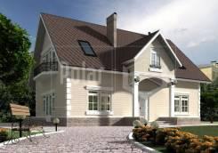 Проект дома Лидер. 200-300 кв. м., 2 этажа