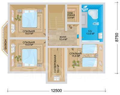Лидер. 200-300 кв. м., 2 этажа