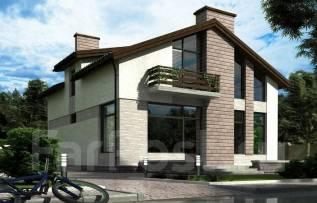 Проект дома из СИП-панелей Ниагара. 200-300 кв. м., 2 этажа