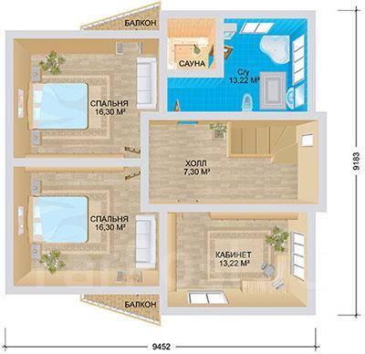 Берн. 100-200 кв. м., 2 этажа