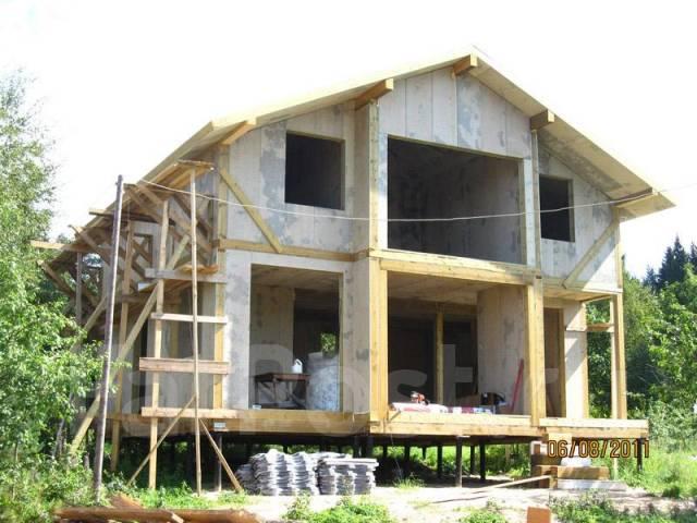 Проект дома из СИП- панелей Гарден. 100-200 кв. м., 2 этажа