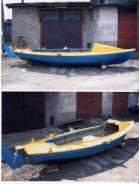 Самодельная модель. Год: 2008 год, длина 5,63м., двигатель подвесной, 5,00л.с., бензин