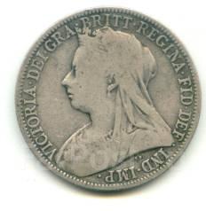 Англия флорин 1898 Victoria Серебро