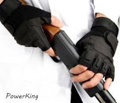 """Тактические перчатки """"Blackhawk"""", беспалые - цвет чёрный."""