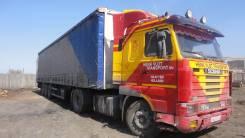 Scania. Скания м113 95г. в. +полуплицеп Мантракон 96г. в., 400 куб. см., 22 000 кг.