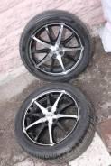 Pirelli P Zero Rosso 225/45/17 + Dotz Shuriken Black/polished 7x17P. 7.0x17