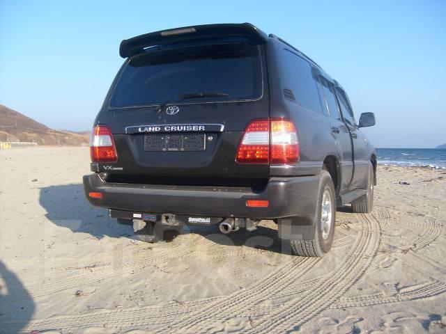 Подкрылки в передний бампер Тойота Ленд Крузер 105, диза 4.2 л. Toyota Land Cruiser, UZJ100 Двигатель 1HD. Под заказ
