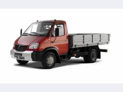 ГАЗ 33106. Бортовой грузовик Валдай, 3 760 куб. см., 4 300 кг.