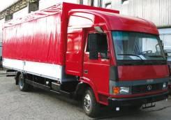Tata. Автофургон ТАТА 613 6,2 м. с закабинным спальником, 4х2, 6 700куб. см., 4 000кг.