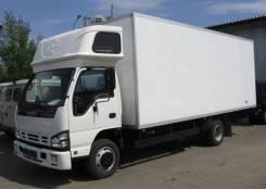Isuzu NPR. Фургон 75 LL с надкабинным спальником, 4 000 куб. см., 3 900 кг.