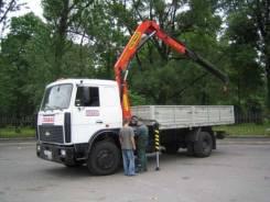 МАЗ 5336. Автомобиль бортовой c КМУ , 3 000 куб. см., 8 000 кг.