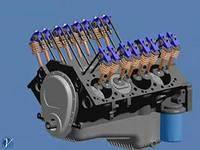 Текущий . Средний и капитальный ремонт двигателя.