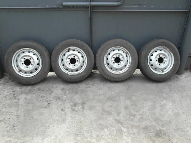 Продаю колёса от Нивы на дисках, б/у, хтс. x16