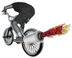 Глушитель на велосипед. Под заказ