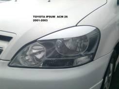 Накладка на фару. Toyota Ipsum, ACM26