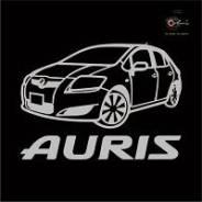 Наклейка. Toyota Auris