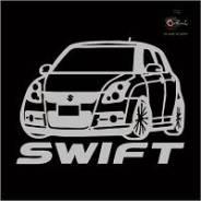 Наклейка. Suzuki Swift