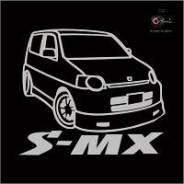 Наклейка. Honda S-MX