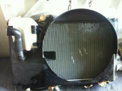 Радиатор охлаждения двигателя. Toyota Mark II, GX115 Двигатели: 1GEU, 1GFE, 1GGE, 1GGEU, 1GGZE, 1G