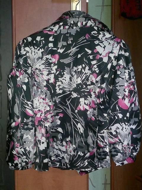 Шёлкова блуза, угольная