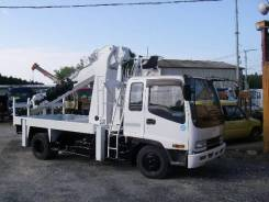Isuzu Forward. (ямобур, бурилка, буровая установка) Aichi D706 под птс., 8 200 куб. см., 3 000 кг. Под заказ