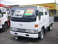 Toyota Dyna. , бортовой 1,5т. 4WD с двигателем 5L, под птс., 3 000 куб. см., 1 500 кг. Под заказ