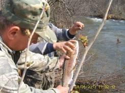 Рыбалка в верховьях горной реки