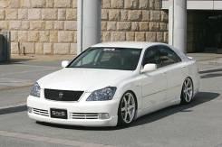 Накладка на бампер. Toyota Crown, GRS180, GRS182, GRS181, GRS184, GRS183, GRS188