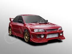 Расширитель крыла. Subaru Impreza WRX STI, GC8