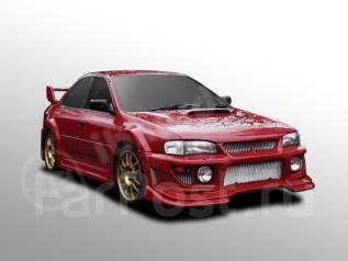 Бампер. Subaru Impreza WRX STI, GC8