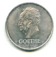 "Германия - Веймар 3 марки 1932D ""Гете"" Серебро"