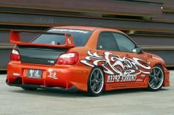 Накладка на бампер. Subaru Impreza WRX, GDB Subaru Impreza WRX STI, GDB