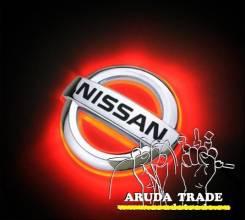 Подсветка под логотип NISSAN (Ниссан) Красный (Отправка по РФ)