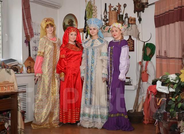 Прокат русских национальных костюмов