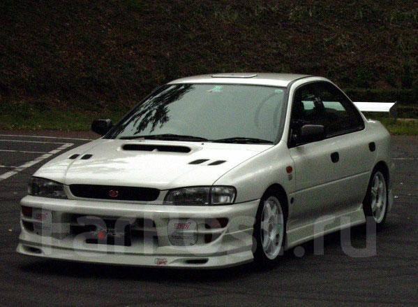 Губа. Subaru Impreza WRX, GC8 Subaru Impreza WRX STI, GC8