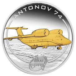 Острова Кука 1$ 2008 г Антонов Серебро Ан - 74