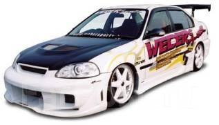 Обвес кузова аэродинамический. Honda Civic, EJ7, EK2, EK3, EK4 Двигатели: B16A, D13B, D15B, D16A. Под заказ