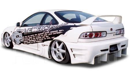 Обвес кузова аэродинамический. Honda Integra