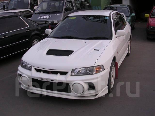 Порог пластиковый. Mitsubishi Lancer Evolution Mitsubishi Lancer