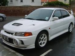 Обвес кузова аэродинамический. Mitsubishi Lancer. Под заказ